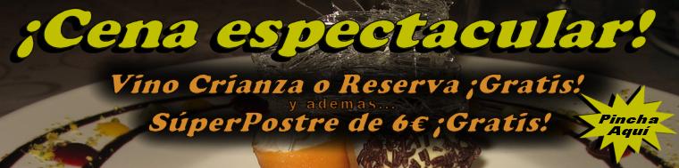 Restaurantes en Madrid - Vino y Postre Gratis en El Pedrusco de Aldealcorvo